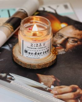 натуральная свеча из кокосового воска